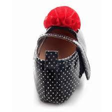 buy sensation accessories black skinny floral soft sole baby