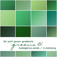 soft green 20 soft purple gradients by kumquatslair on deviantart