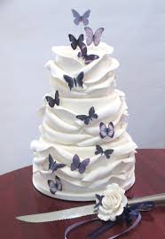 butterfly wedding cake wedding cakes purple butterfly wedding cake decorations intended