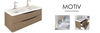 double sink wall hung vanity unit motiv 1200 wall mounted double basin vanity unit grey elm wall