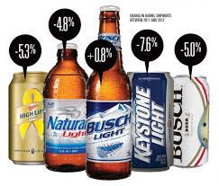 how much is a six pack of bud light why beer marketers don t spend much on joe six pack news adage