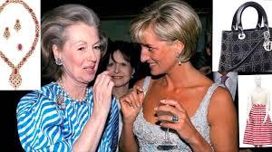 karen spencer countess spencer princess diana stepmother countess raine spencer auction of