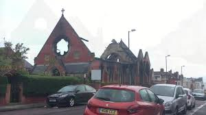 peugeot fire police treating whitley bay church fire as u0027suspicious u0027 as man is