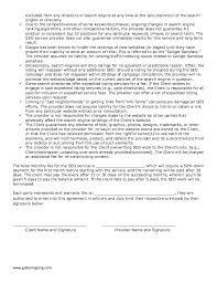 sample freelance seo work agreement