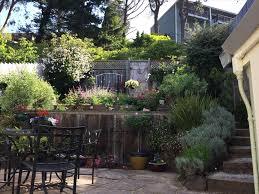 landscape ideas for hilly backyards backyard fence ideas
