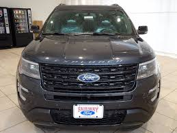 Ford Explorer Ecoboost - 2017 new ford explorer sport 4wd at fairway ford serving