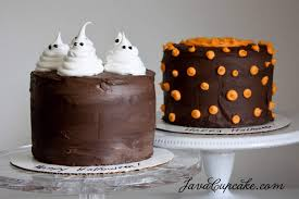 happy halloween ghost u0026 pumpkin cakes javacupcake