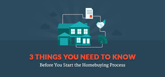 things you need for house the home buying process 3 things you need to know before you start