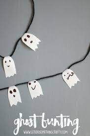 the easiest halloween ghost crafts