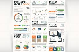 infographic mega bundle thousands of graphic elements only 24