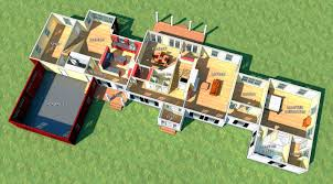 Group Home Floor Plans Architectural Floor Plan Home Design There Are Several Major House