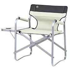 Coleman Camp Table Coleman Deck Chair With Table Khaki Amazon Co Uk Sports U0026 Outdoors
