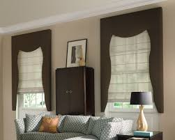 above is segment of window treatment ideas for kitchen bay window