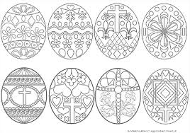 coloring pages easter eggs small plain easter eggs 9