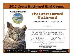 Audubon Backyard Bird Count by The Great Backyard Bird Count U2013 Laudato Si U0027 Project Blog