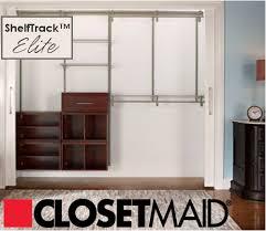 Closetmaid Shelf Track System New Year U0027s Organizing Revolution Week 3 Closets Organizing