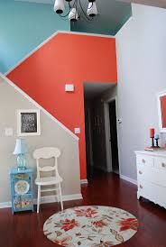 Orange Accent Wall by Best 25 Coral Accent Walls Ideas On Pinterest Coral Room