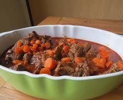 cuisiner boeuf boeuf carottes facile recette de boeuf carottes facile marmiton