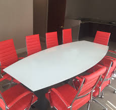 Meeting Tables Modern Boat Shaped Custom Conference Tables In Many Finishes