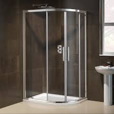 1000x800mm right hand quadrant shower door screen glass enclosure