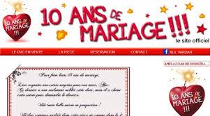 dix ans de mariage revoweb site de présentation 10 ans de mariage