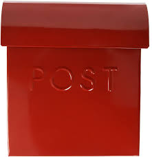 nach mb 44766 euro mailbox red rural mailboxes amazon com