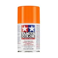 tamiya ts 96 fluorescent orange spray lacquer paint 85096 tam85096