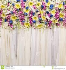 Wedding Flowers Background Beautiful Flowers Background For Wedding Stock Photo Image 44804398