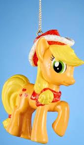 3 25 orange my pony applejack decorative