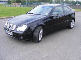 mercedes c class for sale uk used mercedes 2006 diesel class c220 cdi se coupe black