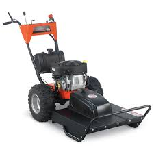 field and brush mower walk behind 26 inch 14 5 hp electric start