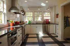 black and white kitchen floor ideas black and white tile floor kitchen ideas photos houzz