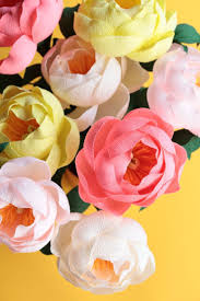 290 best paper flowers u0026 crafts images on pinterest fabric