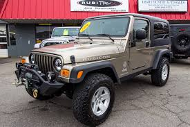 old jeep wrangler pre owned 2006 jeep wrangler lj rubicon
