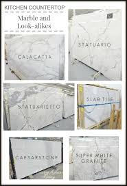 kitchen countertops marble and look alike alternatives u2014 classy