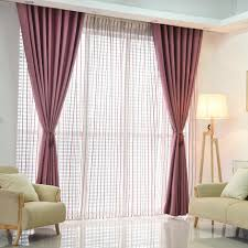 curtains for livingroom plain dyed blackout curtain kitchen door window curtains for