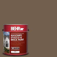 behr premium 1 gal ms 46 chestnut brown satin interior exterior