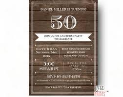 surprise birthday invite male birthday invitations