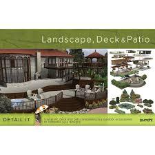 amazon com encore software punch landscape deck u0026 patio design v18