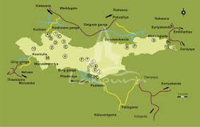 Sri Lanka On World Map by Sinharaja Rain Forest In Sri Lanka
