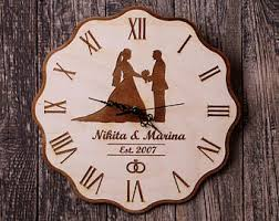 personalized wedding clocks 137 unique astronomical wall clock personalized