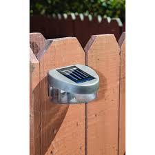 Malibu Solar Fence Lights by Solar Lights For Fence 53 With Solar Lights For Fence Home