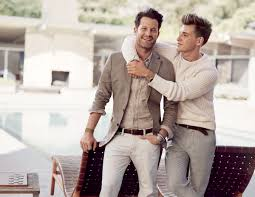too cute nate berkus and his fiancé star in banana republic