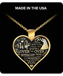 you necklace images To my wife i 39 ll keep choosing you pendant necklace png