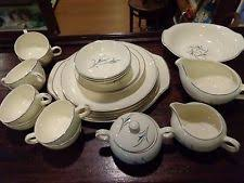 mid century modern salem china dinnerware ebay