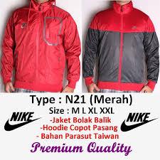 Jual Jaket Nike Parasut jual jaket nike parasut running windrunner n21 merah murah
