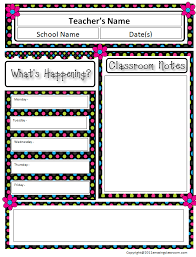 class newsletter templates 28 images free classroom newsletter