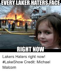 Laker Hater Memes - every laker haters face right now lakers haters right now lakeshow