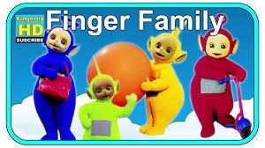 finger family song teletubbies family finger nursery rhymes