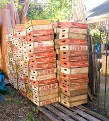 the old cinema vintage wooden soda crates so many ways to use